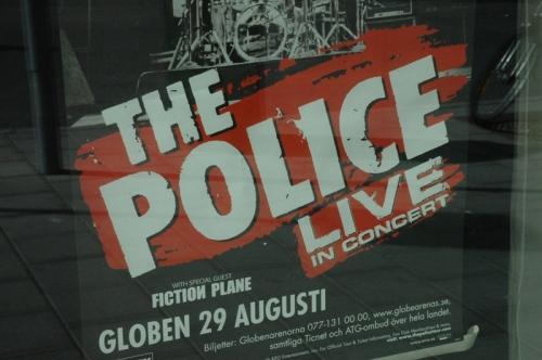 Police i Globen