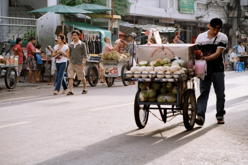 Gadehandler, Khao San Road