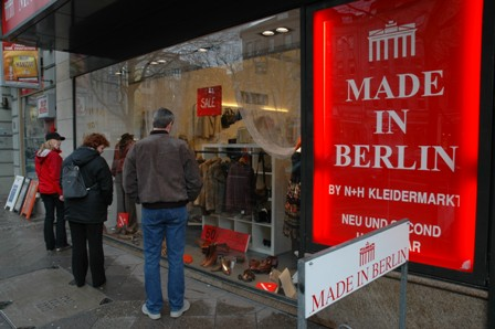 Second Hand shopping ala Berlin