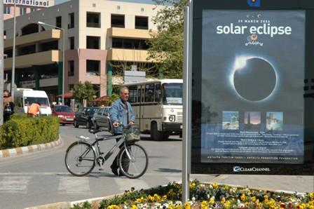 Antalya klar til solformørkelse