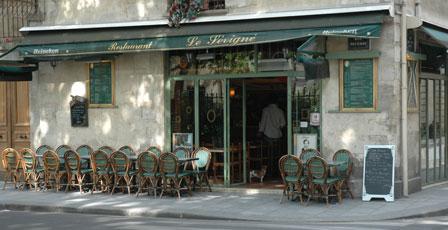 Café, Marais kvarteret