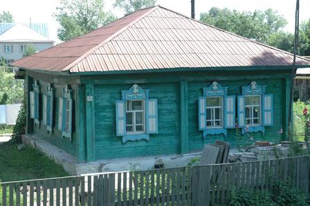 Typisk Sibirisk hus, Talmenka