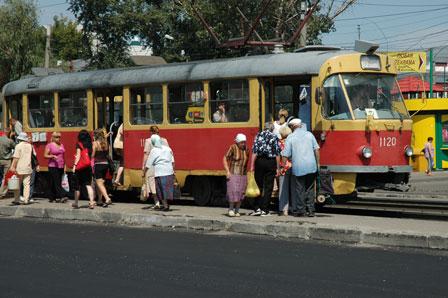 Sporvogn i Barnaul
