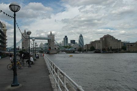 London efter regnen