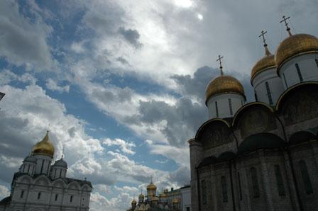 Vrede skyer over Kreml, Moskva