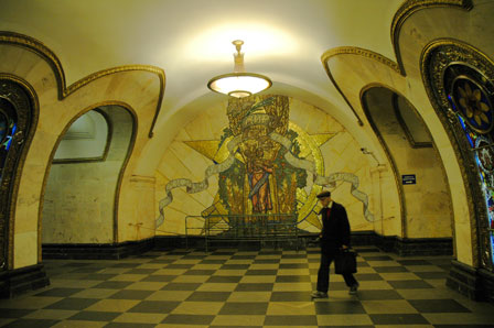 Magiske og skønne Moskva Metro