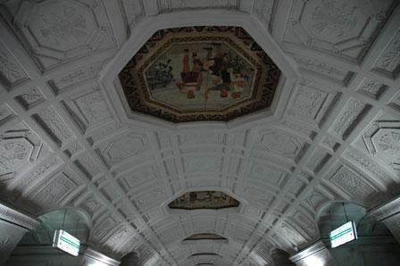Amalienborg? Nej - Et metroloft i Moskva