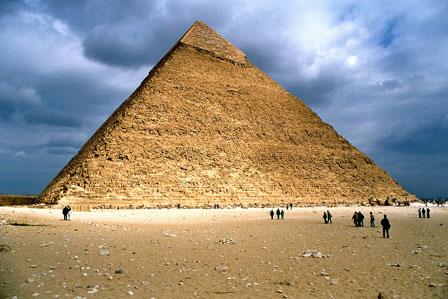 Kefren pyramiden, Giza, Egypten, februar 2004