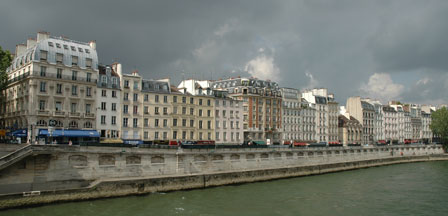 Seinen, Paris, Frankrig, maj 2008