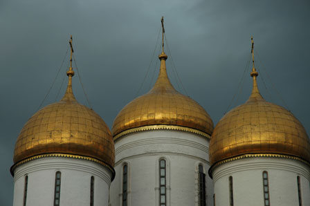 Kreml, Moskva, Rusland, august 2008