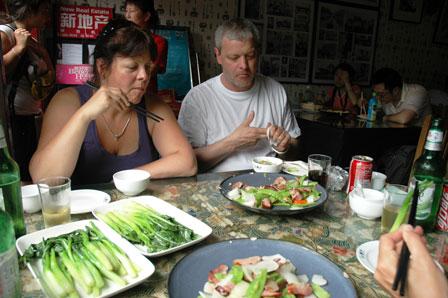 Kina mad når det er bedst...