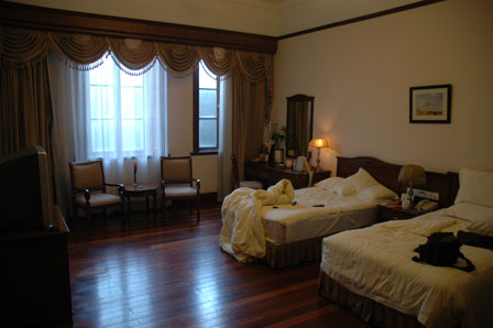 Pompøst og britisk, Astor House Hotel