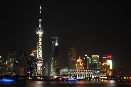 Shanghai by night.