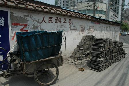 Transport af tagsten, Old Town