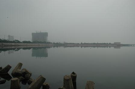 Jinshanwei, 22. juli 2009. Gråt, i gråt, i gråt...