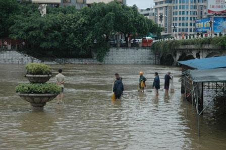 Oversvømmelse i Guilin..