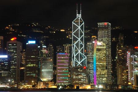 Bank of Chinas smukke bygning er inspireret af en bambusstok.