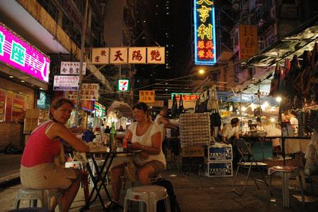 Nattens sidste øl. Kowloon.