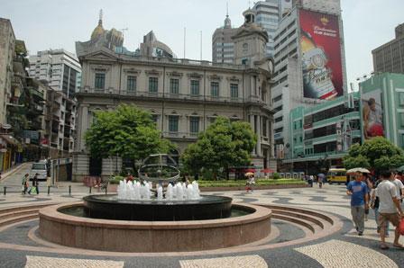 Portugisisk idyl, Macau, Kina.