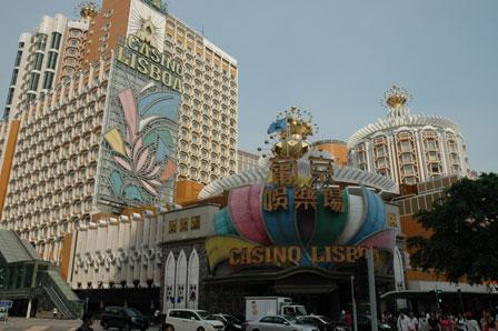 Casino Lisboa, Macau.
